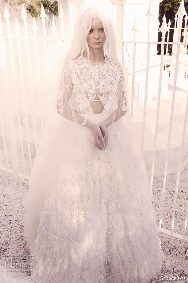 THE MYTHICAL BRIDE: George Wu 2016 Wedding Dresses Sancta