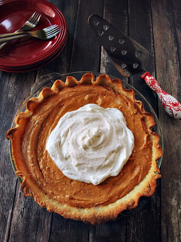 Pumpkin Spice Cookie Butter Pie - Femme Fraiche