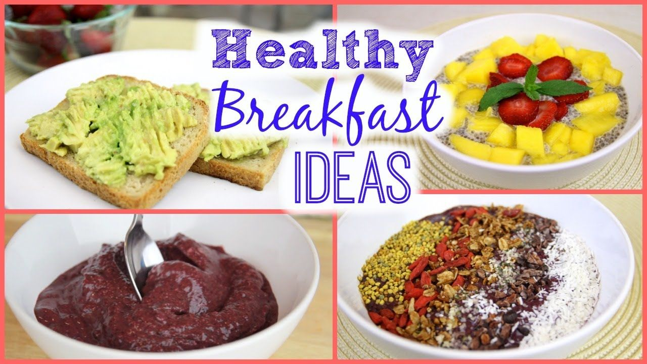 healthy breakfast ideas! | gluten & dairy free -vanilla chia pudding
