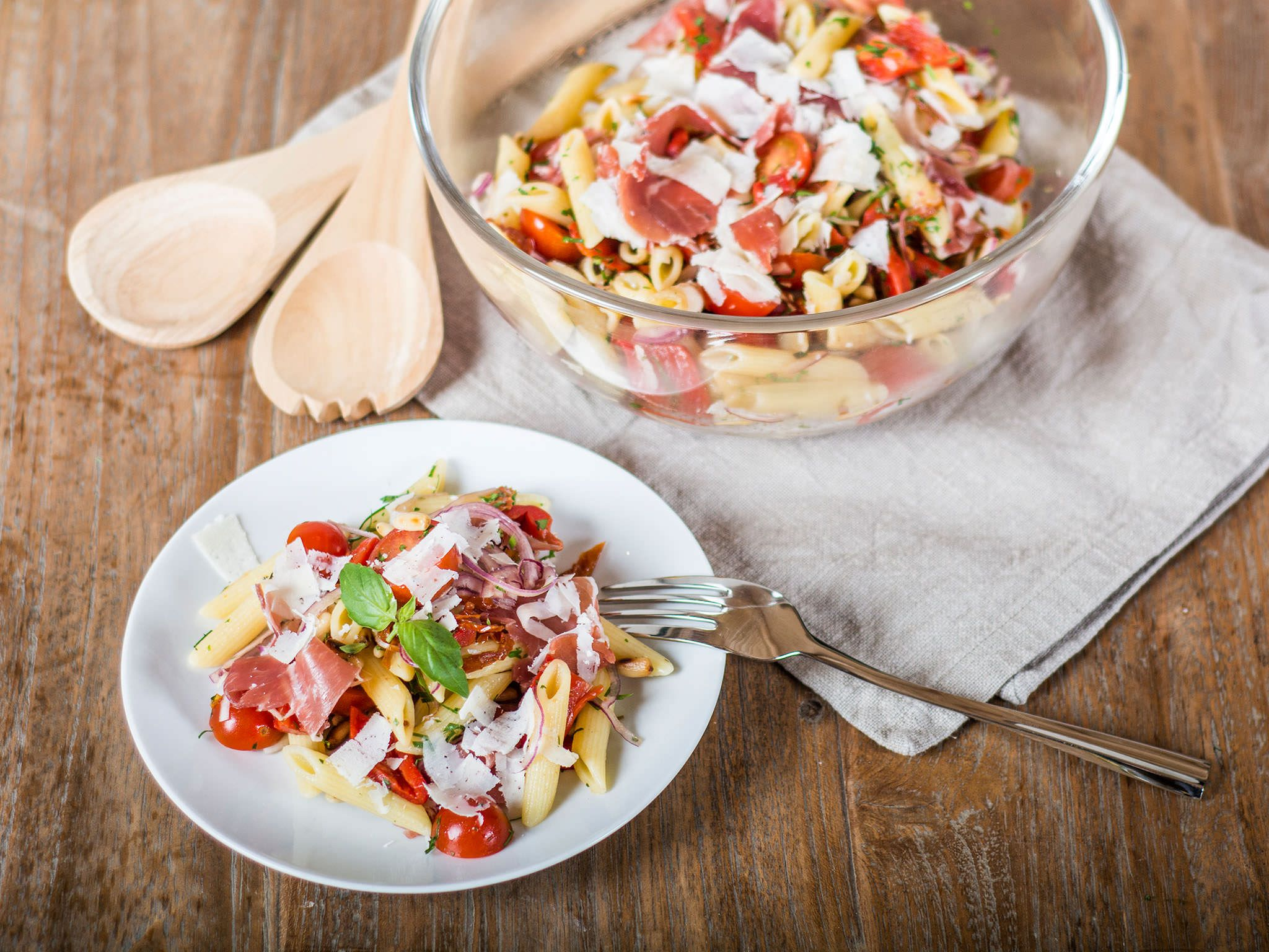 Salat ausgefallener Fast Slow