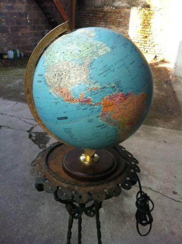 lampe globe terrestre michelin mappe monde ebay id es d co pinterest globe. Black Bedroom Furniture Sets. Home Design Ideas