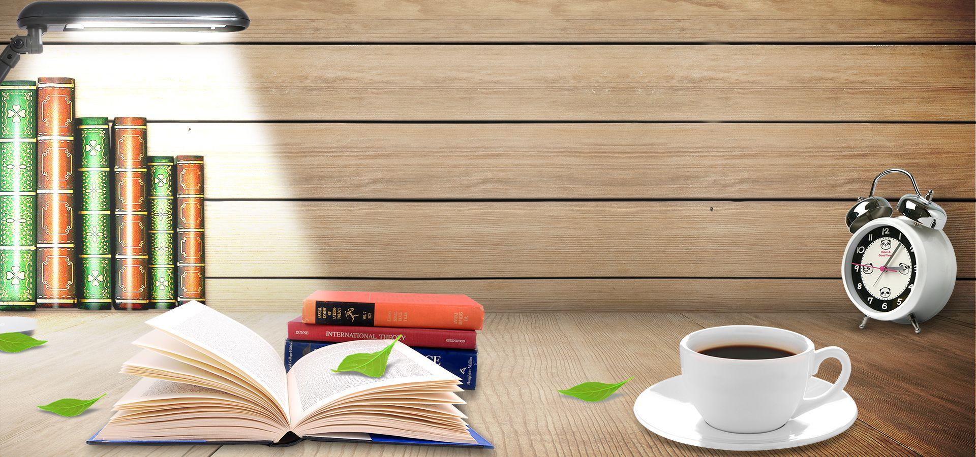 كتب التنبيه مصباح طاولة القهوة ملصق شعار Importance Of Education Book Art Paper Background