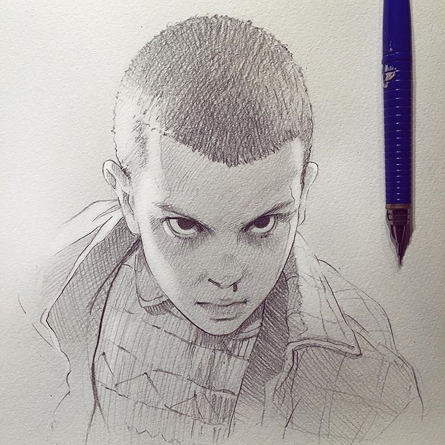 Stranger Things's Eleven! (from