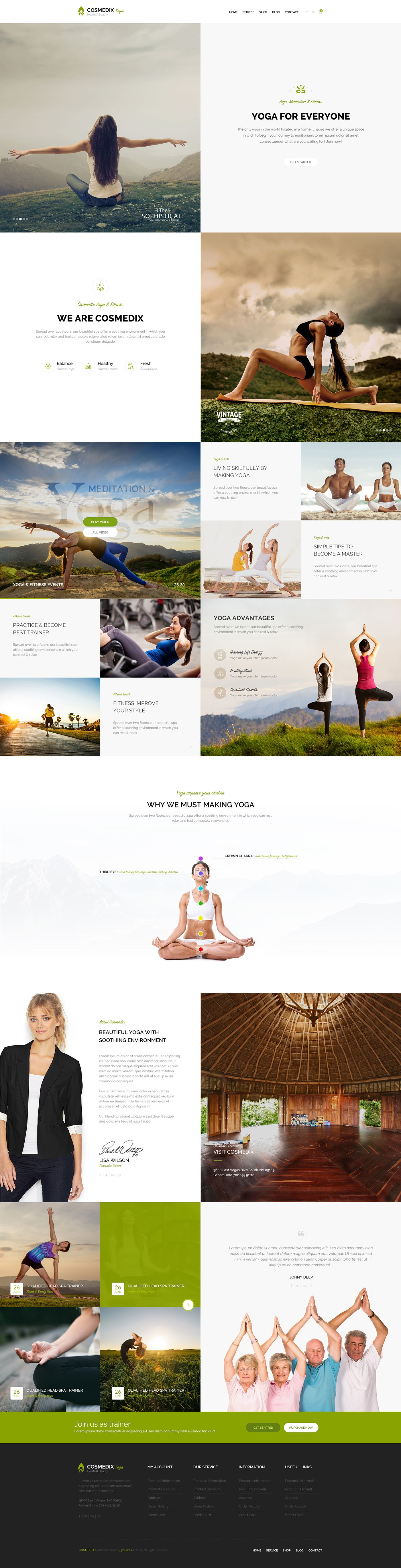 COSMEDIX YOGA 3 on Behance