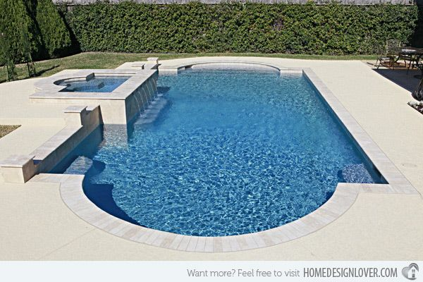 Get To Know The 10 Different Shapes Of Swimming Pools Home Design Lover Swimming Pool Landscaping Pool Shapes Pool Remodel