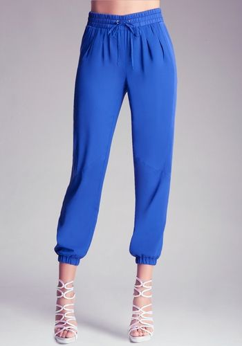 Pintuck Casual Pant from bebe on shop.CatalogSpree.com, your personal digital mall.