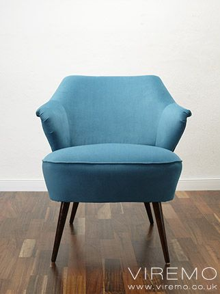 Vintage Retro Modern Armchairs Collection Modern Style