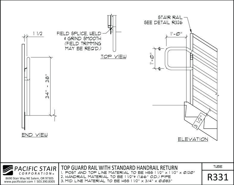Standard Stair Rail Height Best Of Stock Balcony Railing Height Code Awesome Stair Rail Guard Tube Paci Log Cabin Floor Plans Cabin Floor Plans Container House