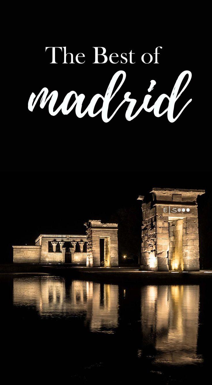 Must See Sights In Madrid Spain Madrid Travel Spain Travel Europe Travel