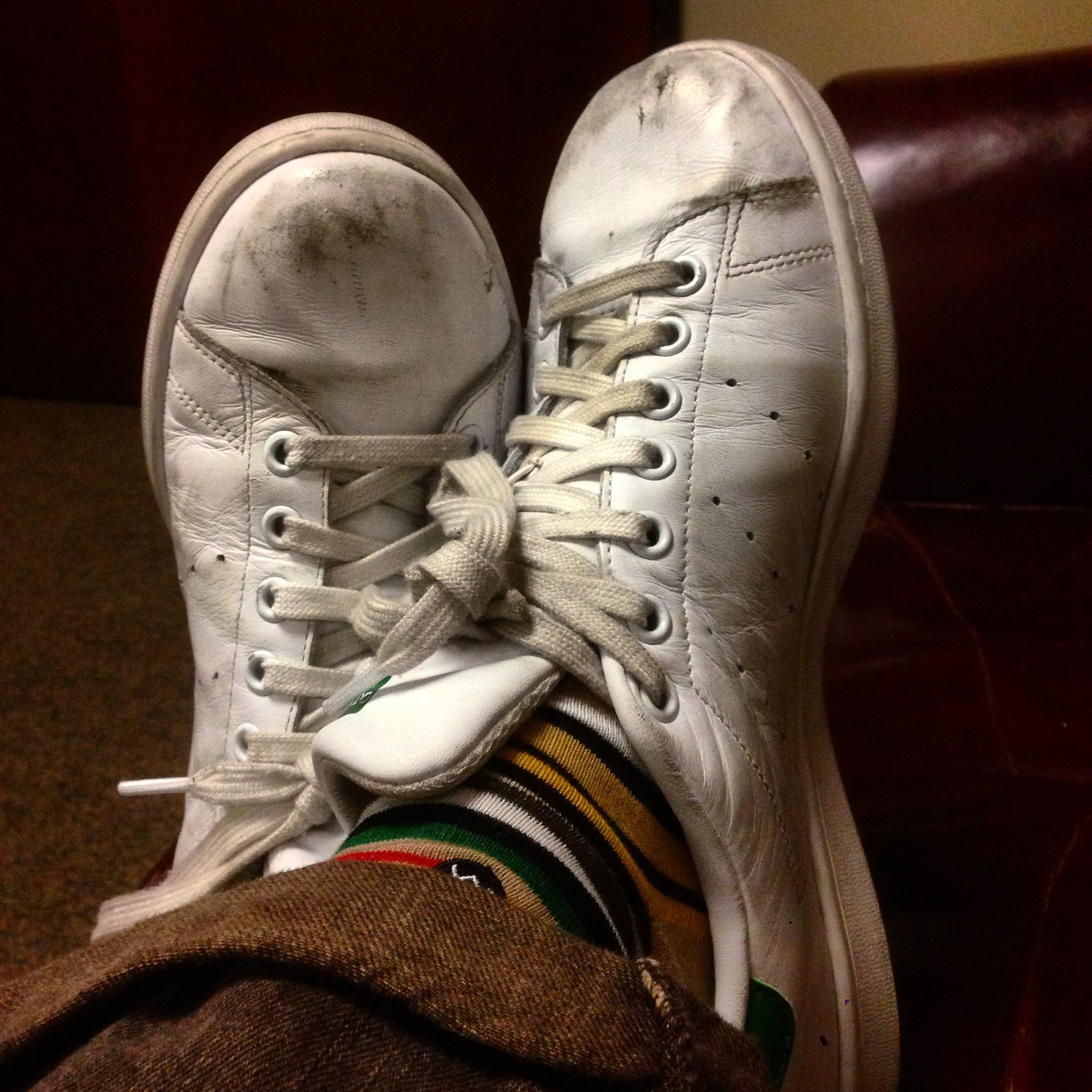 Well Worn Adidas Stan Smith & Stance Socks | Worn ...
