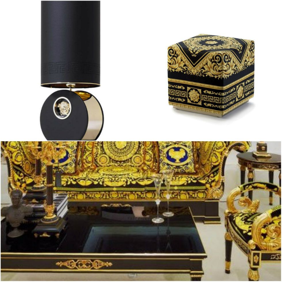 How To Decorate Your Milan Appartment With Versace Home Decor  # Muebles Versace
