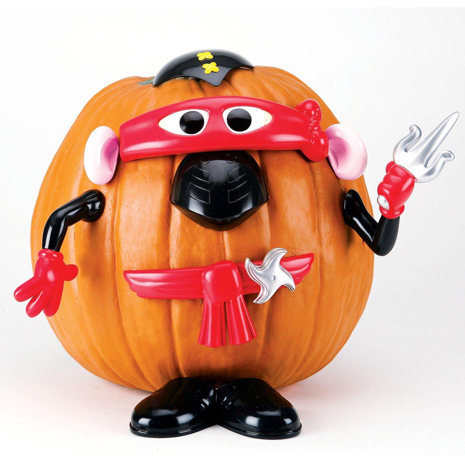 Mr Potato Head Ninja Pumpkin Decorating Set