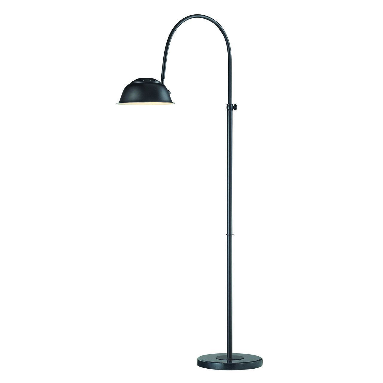 Merriston Floor Lamp In Oil Rubbed Bronze With Marble Base D2409B