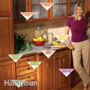 Kitchen Cabinets: 9 Easy Repairs   Crafty Ideas   Diy ...