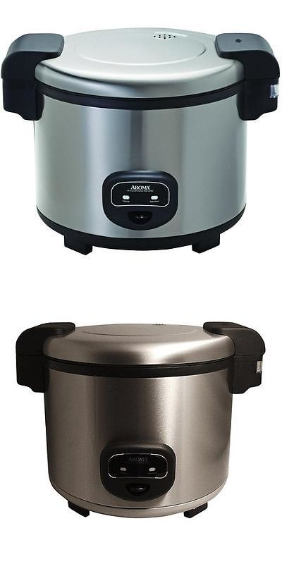 Small Kitchen Appliances: Aroma 60-Cup Stainless Steel Commercial ...