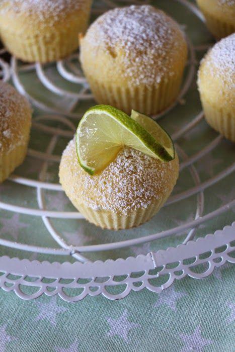 Limetten Muffins Rezept Suss Pinterest