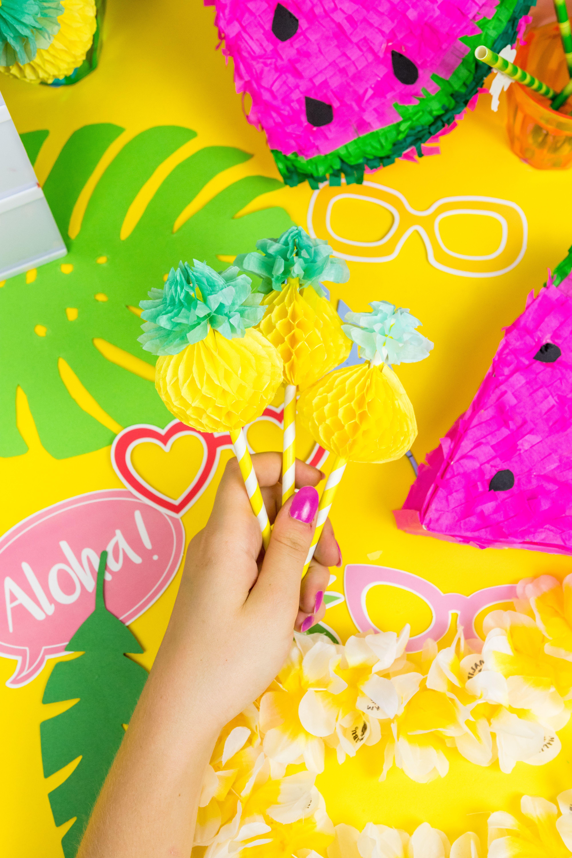 Die Schönsten Sommer Party DIY Deko Ideen Selber Machen: So Einfach  Verzierst Und Verschönerst Du