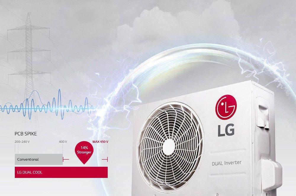 Ciptakan Relaksasi Maksimal Dengan Ac Lg Dualcool With Watt Control
