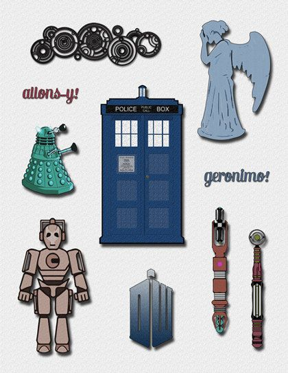 doctor who clipart a doctor who clip art by elletoppdesignworks rh pinterest co uk doctor clipart png doctor clipart images
