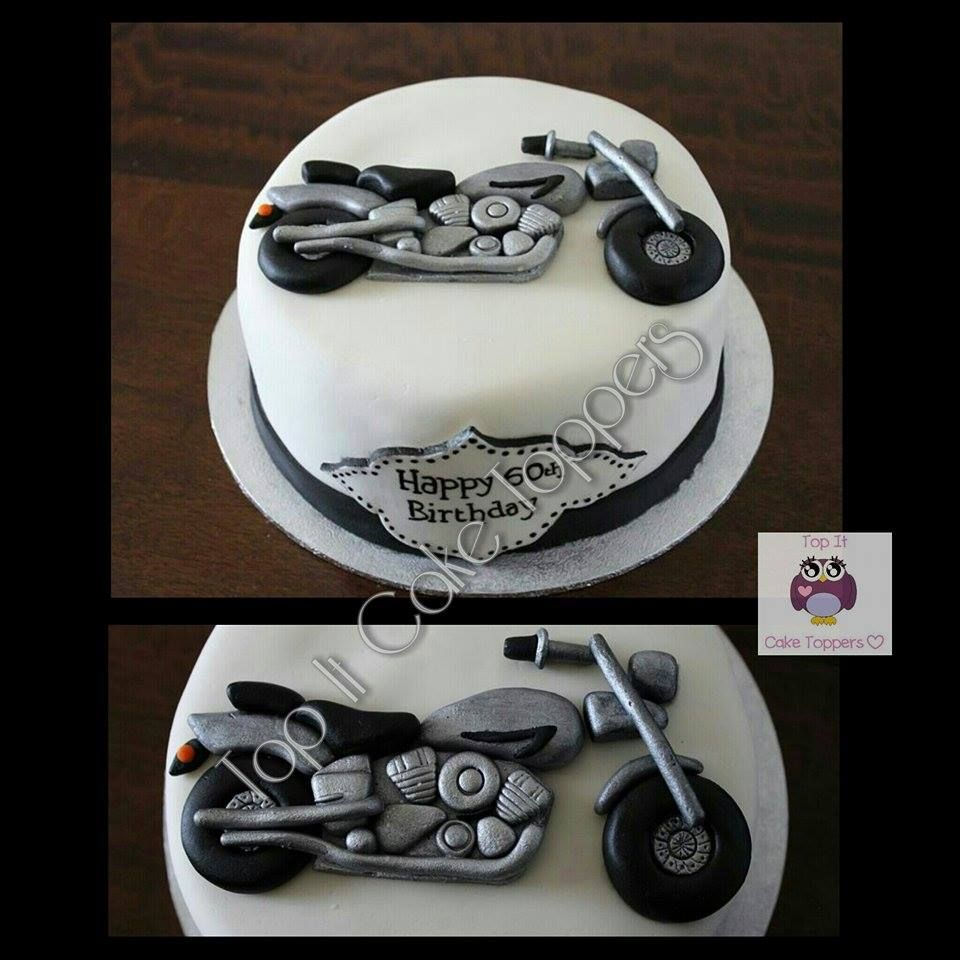 Motorbike Cake Motorbike Cake Topper Motorbike Cake
