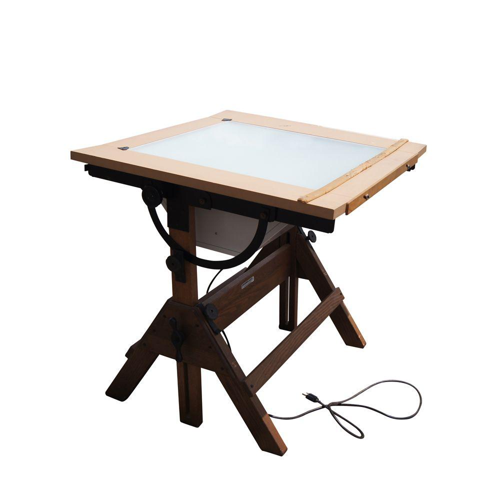 Good Vintage Hamilton Drafting Table.