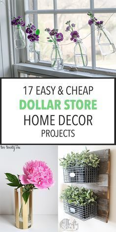 17 Easy  Cheap Dollar Store Home Decor Projects | Like My...  #crafts #decor #diyblog #diycostume #diygifts #cheap #crafts #Decor #diy garden decor dollar stores cheap #Dollar #Easy #home #Projects #store