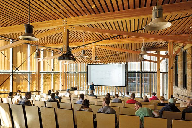 The Forum At Marvin Hall School Architecture Architecture