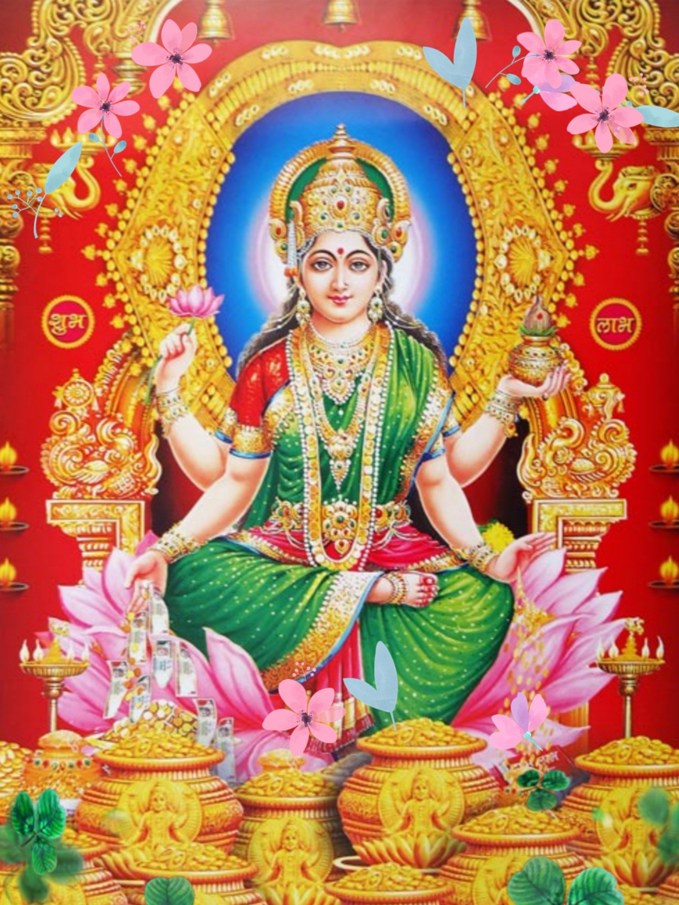 Maa Laxmi Photo Gallery Lakshmi Images Hindu Gods Devi Images Hd