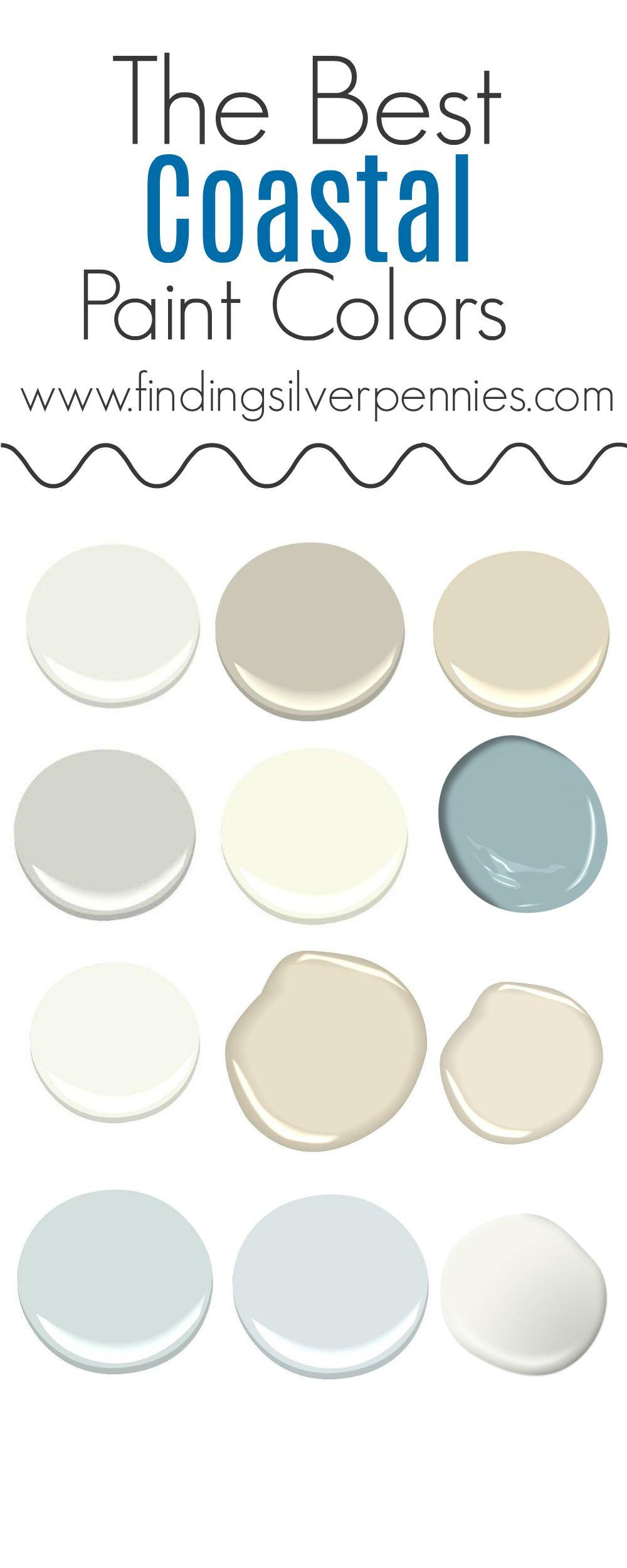The Colors Of Our Home Coastal Paint Colors Coastal Paint