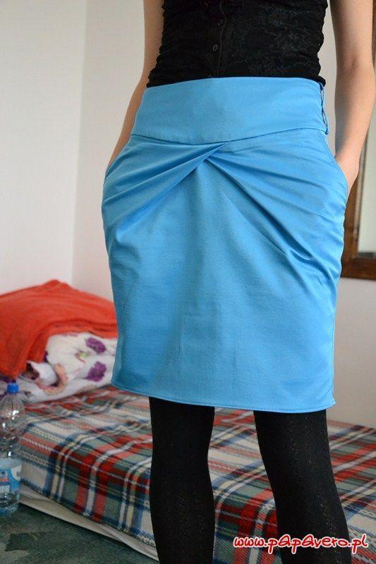 Kostenloses Schnittmuster Rock - Free Skirt Pattern