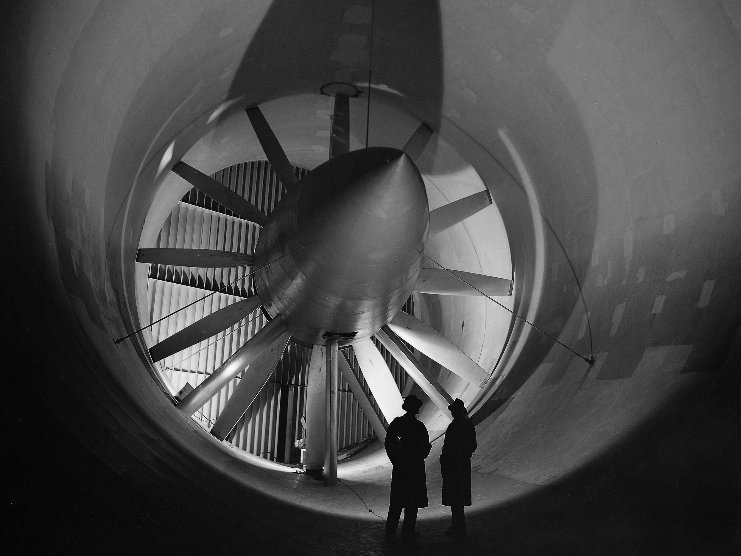 The Giant Fan Of The Altitude Wind Tunnel 2488 X 1866