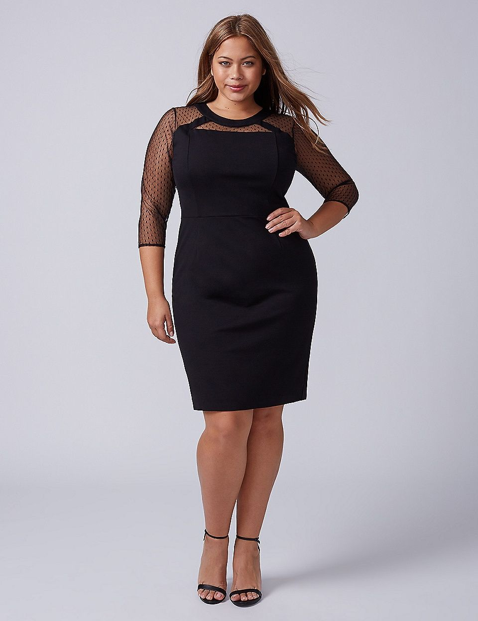 f2fffc062d978 Lane Bryant Point D'Esprit Sheath Dress in 2019 | My Style | Plus ...