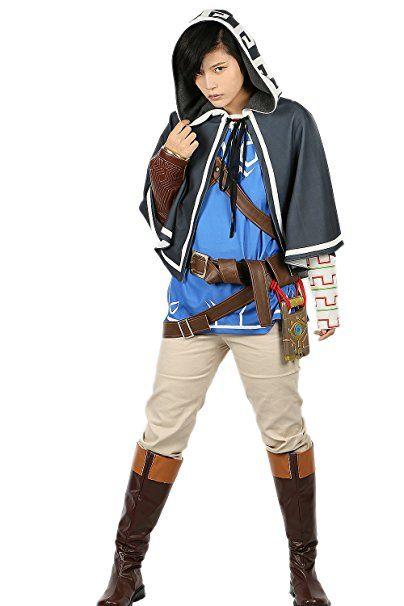 Herren Cosplay Link Kostüm Deluxe Outfit mit Zubehör Erwachsene ...