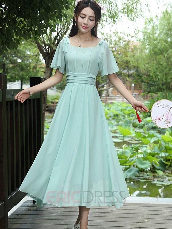Ankle Length Maxi Dresses