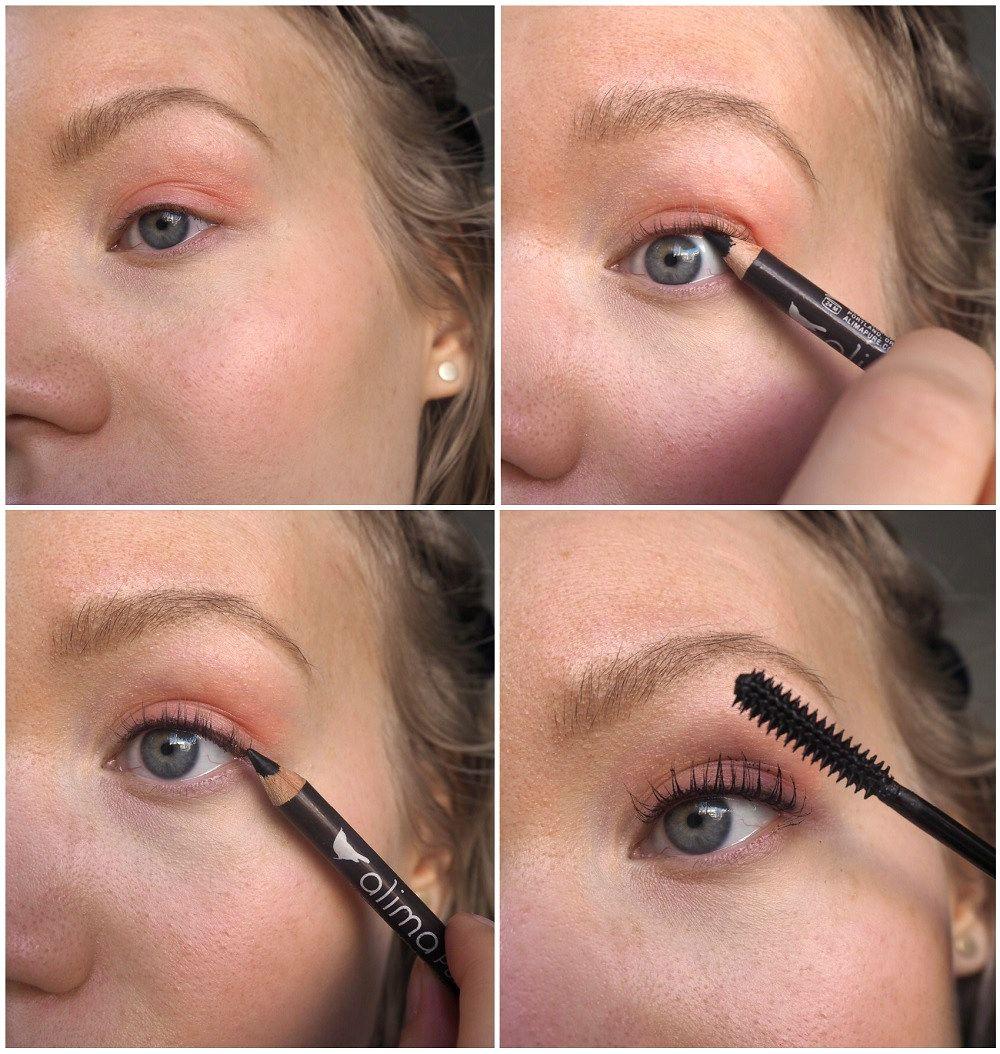 Simple organic luxury makeup [Step by step photos] using