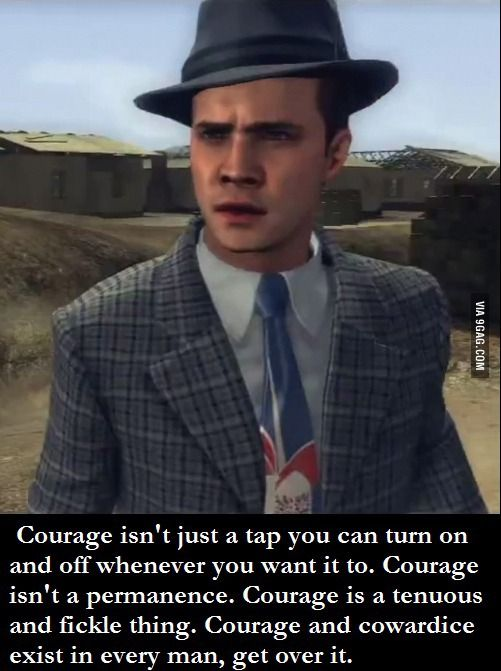 Loved This Quote From La Noire Quoteunquote Rockstar Games
