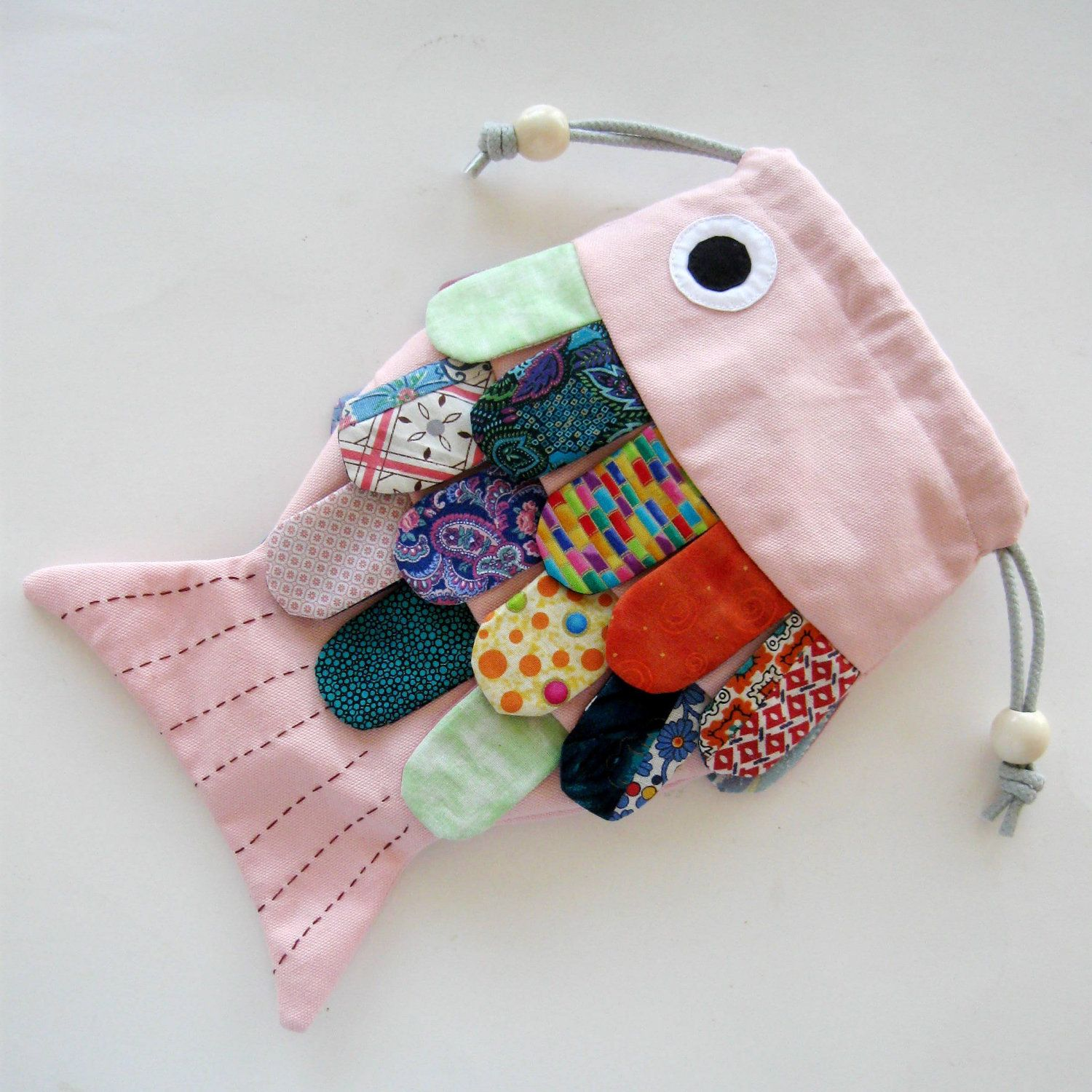 fish purse. I\'ve just got to make one! | sewing ideas | Pinterest ...