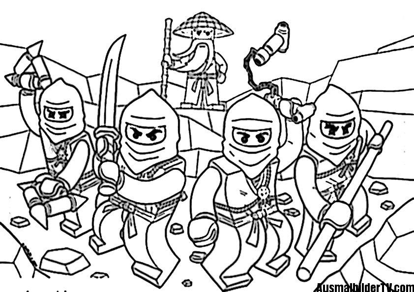ninjago ausmalbilder zum ausdrucken | ausmalbilder | Pinterest ...