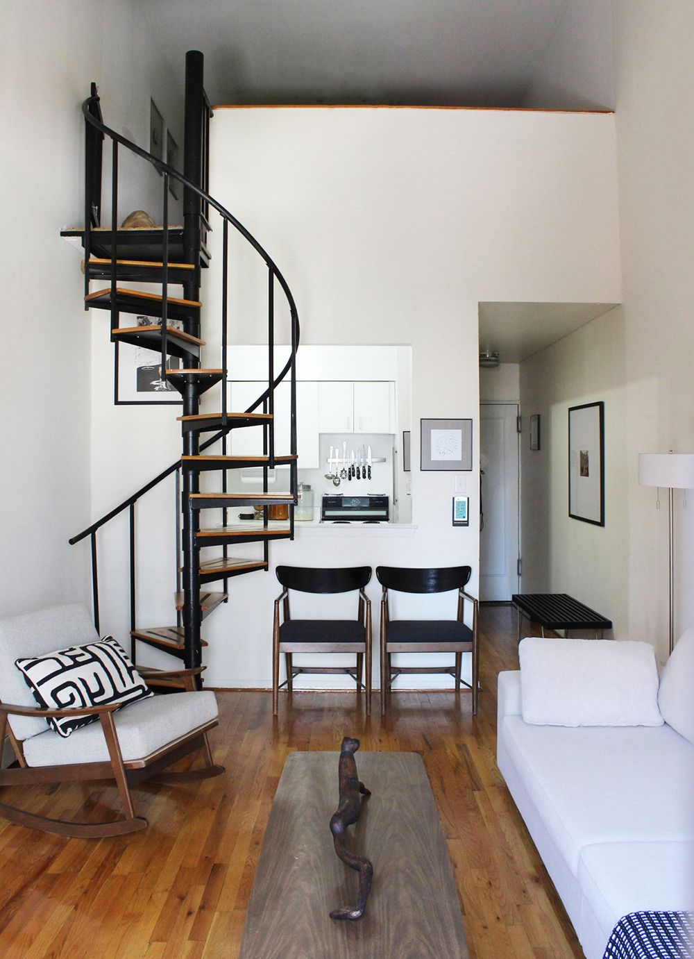 Space Saving Staircases Room For Tuesday Blog Loft Apartment Decorating Tiny House Interior Loft House