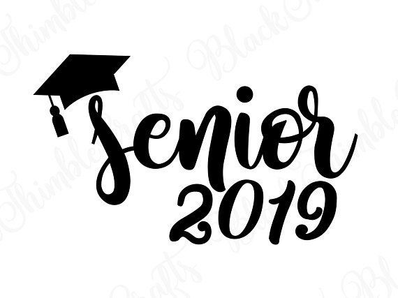 Senior svg, senior 2019 svg, graduation svg, college