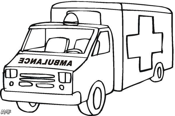 Coloring Pages Ambulance Free Coloring Pages Cars Coloring Pages Ambulance Truck Coloring Pages