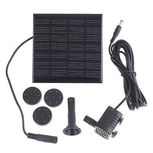 VicTsing Solar Water Pump for Fountain Pool Garden Pond Submersible Water Pump by VicTsing. Save 43 Off!. $17.99. Description: Solor power fountain pool water pump is a very helpful tool for garden plants caring. Energy came from the sun, no need any other extra power supply. The item works so good that makes your garden plants keep fresh everyday.  What is included:  1 x Solor power fountain pool water pump 1 x user manual