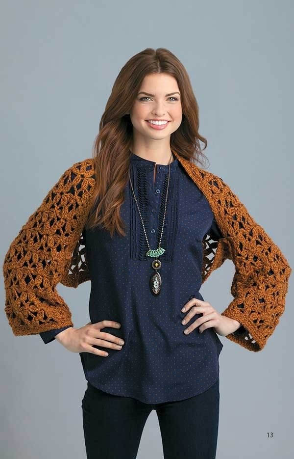 Best Shawls and Shrugs to Crochet Patterns for Shawls ...