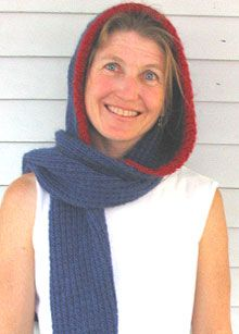 Carollers hooded scarf knitting pattern knitcrochet patternshow carollers hooded scarf knitting pattern dt1010fo