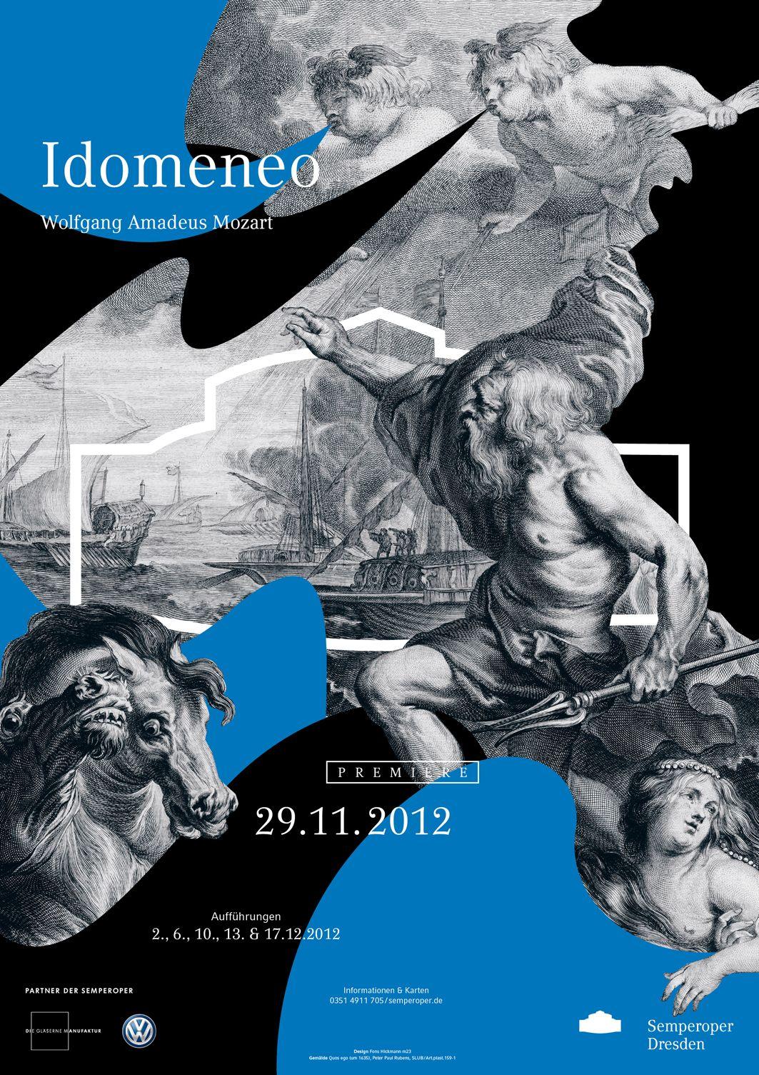 Plakatkampagne Der Semperoper Dresden Semperoper Dresden Grafische Poster Semper Oper