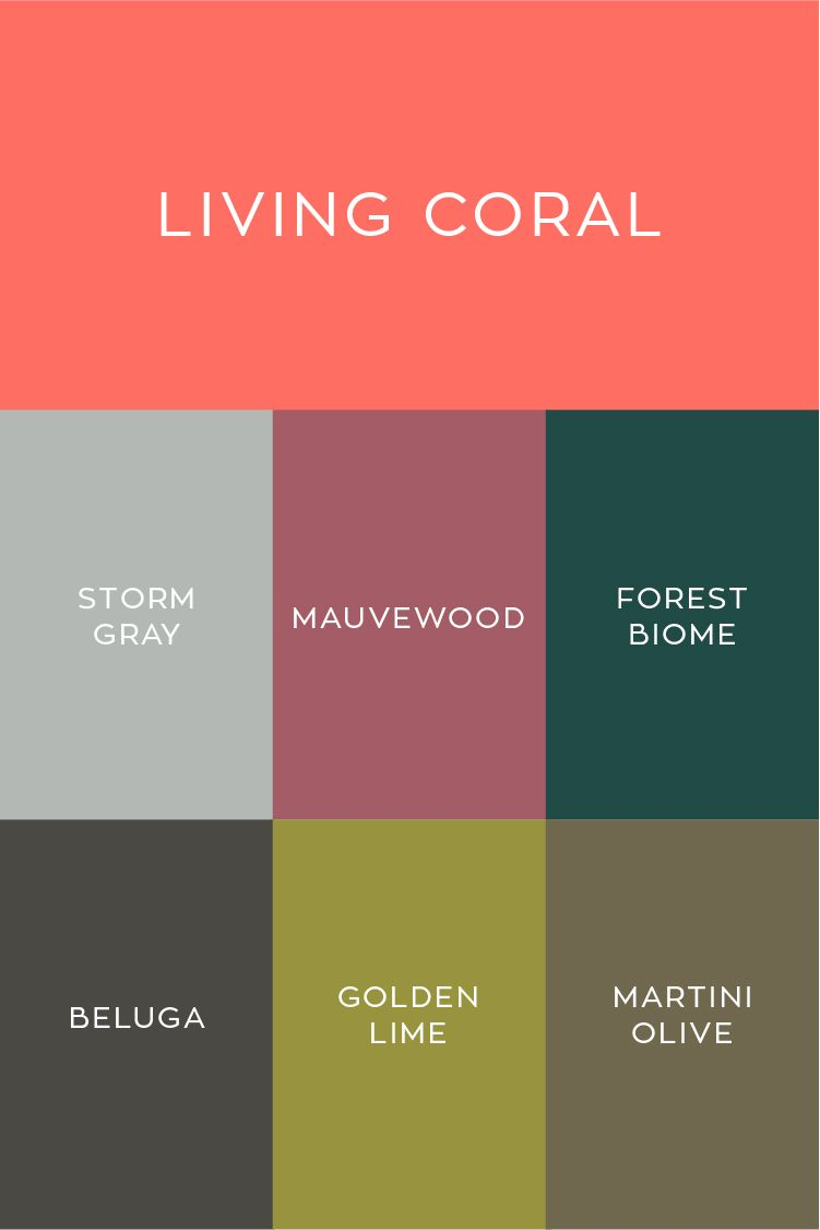 pantone 2019 color of the year living coral palette with cooler colors like grays greens colour palettes navy blue solid coated ref
