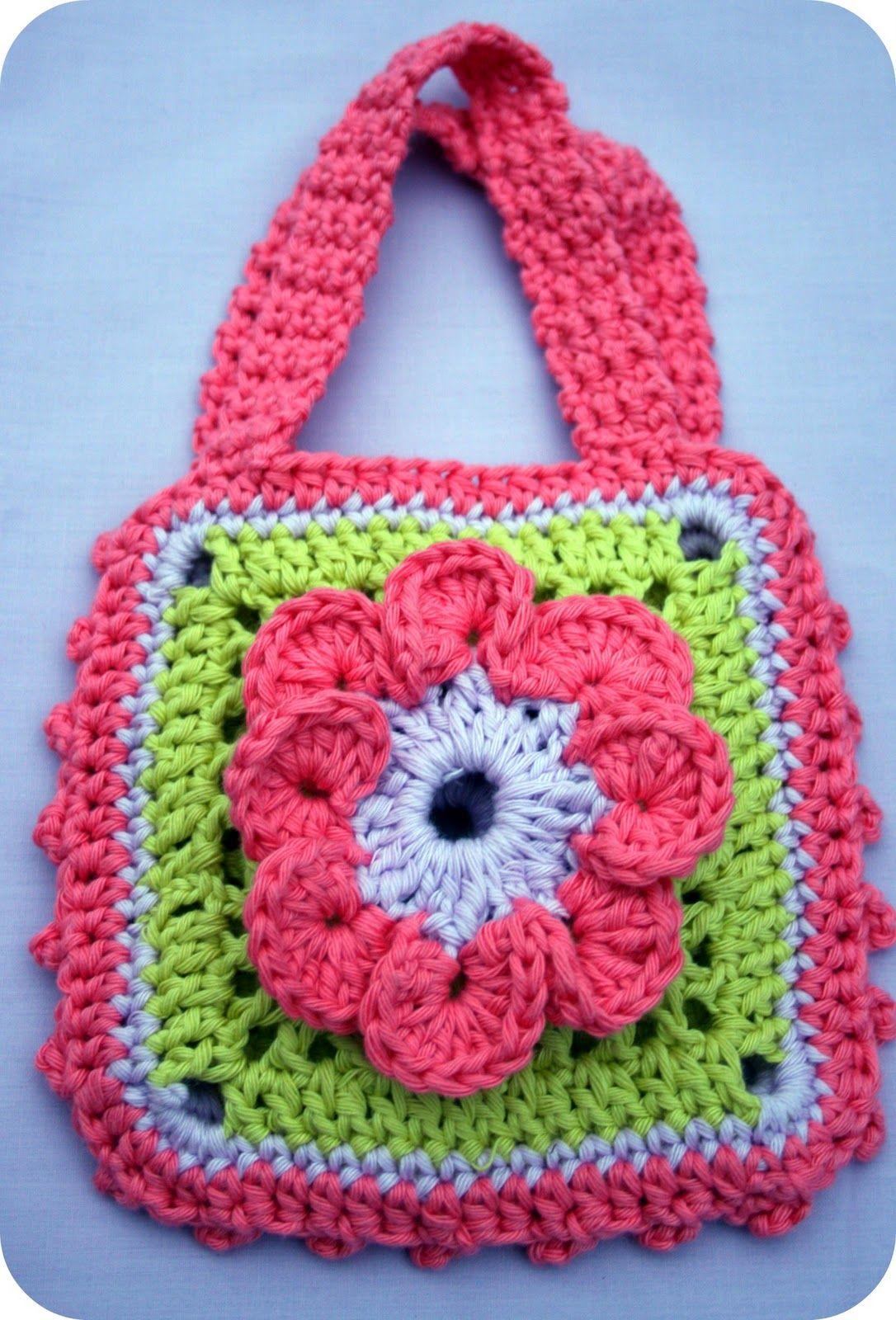 Coffee 'n' crochet: Bloggy love swap treats   Handbag ...