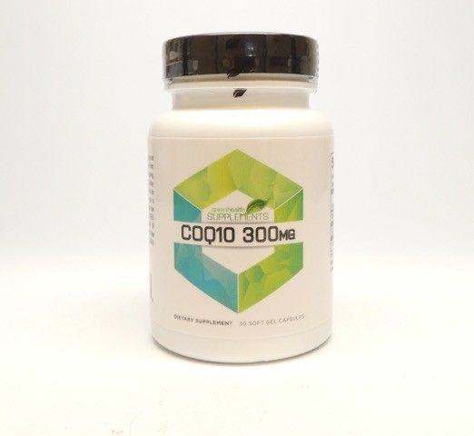 Green Health Cube - CoQ10 300 mg Supports cell energy production and provides wide-ranging cardiovascular support.