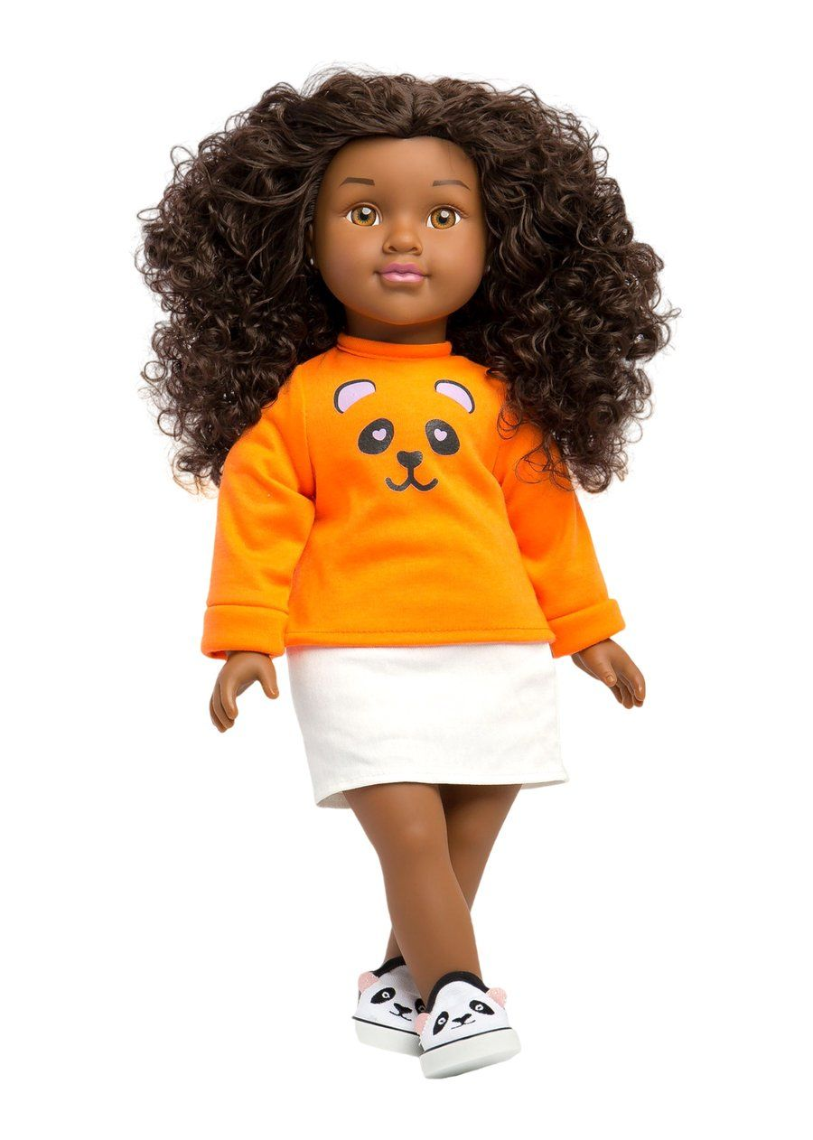 Natural Curly Hair Black Doll ZAIR Positively Perfect™ in ...