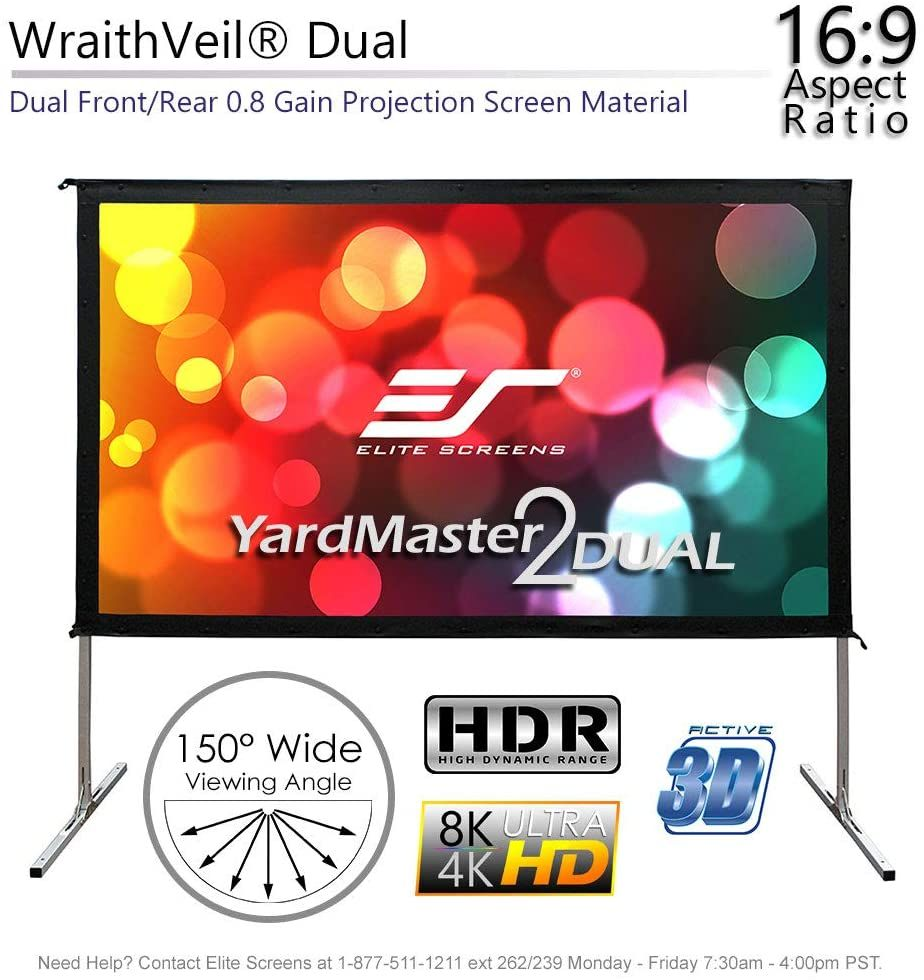 120 Inch Projector Screen Hd Foldable Portable Front Amp Rear Projection Screen Portable Pro 120 Inch Projector Screen Rear Projection Screen Projector Screen